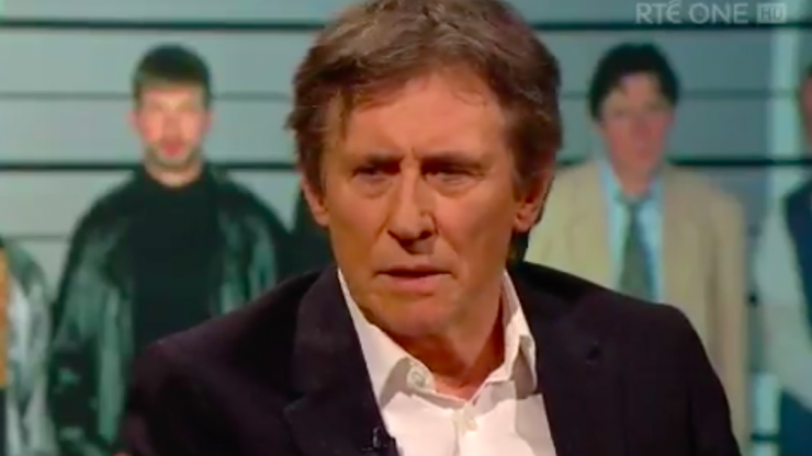 WATCH: Gabriel Byrne's speech on alcoholism brought a nation to tears last night