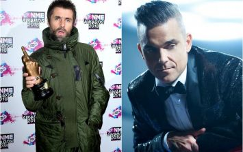 Liam Gallagher has responded to Robbie Williams' suggestion to collaborate