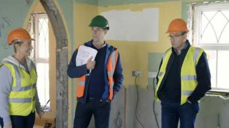 WATCH: The moment Daniel O'Donnell loses his cool about the budget for his house on tonight's Room to Improve