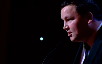 WATCH: The full, official video of John Connors' incredible speech from the IFTAs