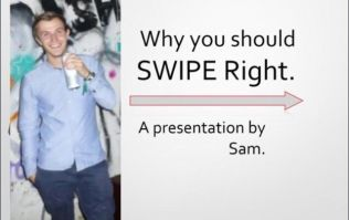 PICS: This guy went 'all in' on his Tinder profile with a brilliant PowerPoint presentation