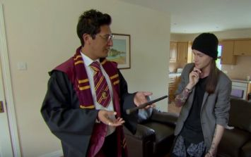 "WATCH: ""I'm not going."" Harry Potter themed wedding causes havoc on the Irish Don't Tell The Bride"