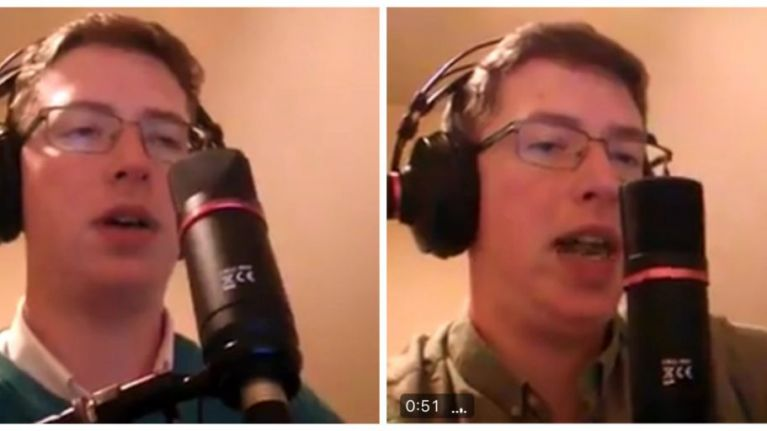 This guy is quickly becoming an internet phenomenon for taking the piss out of Irish radio