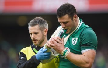 Ireland V Italy, who will replace Robbie Henshaw and Donnacha Ryan interview on The Hard Yards