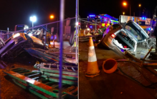 Five injured following horror crash in Dolphin's Barn