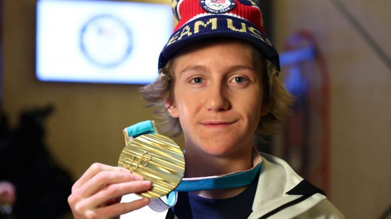 Teenage winter Olympian sleeps through alarm because of Netflix binge, still wins gold medal