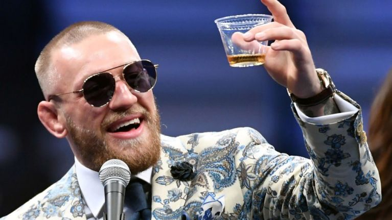 PIC: Conor McGregor pictured in one of Amsterdam's most famous 'coffee shops'