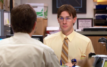 John Krasinski talks about a The Office revival with Ellen