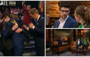 The touching moment a young lady met her hero, Jacksepticeye, on the Late Late Show