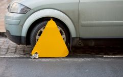 Gardaí arrest motorist in Dublin for trying to remove clamp with a hammer