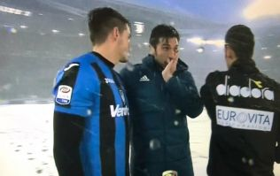 PICS: Incoming weather front already causing havoc as Juventus match postponed due to blizzard