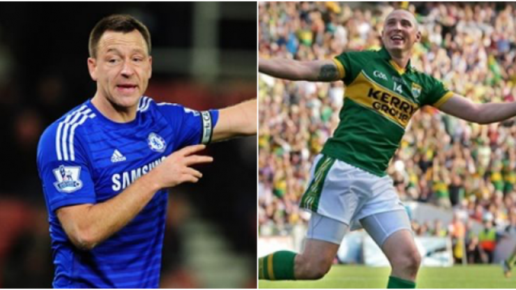 John Terry has given his backing to Kieran Donaghy