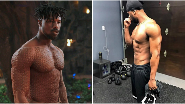 456e7bea21661 The workout which got Michael B. Jordan in shape for Black Panther ...