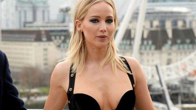 "Jennifer Lawrence on the feminist critics of her revealing dress: ""You're loud, you're annoying, you have no point"""