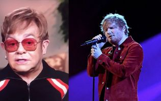 Elton John pronounces Ed Sheeran's name differently to everyone else on the planet