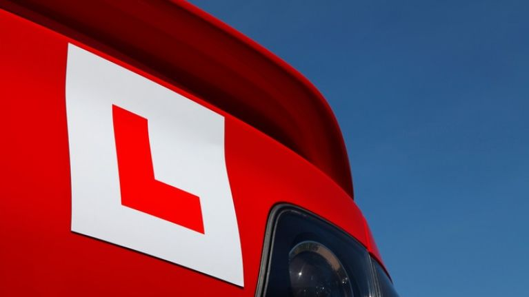 Teenage learner driver arrested for driving car with illegal Irish number plates at 181 km/h