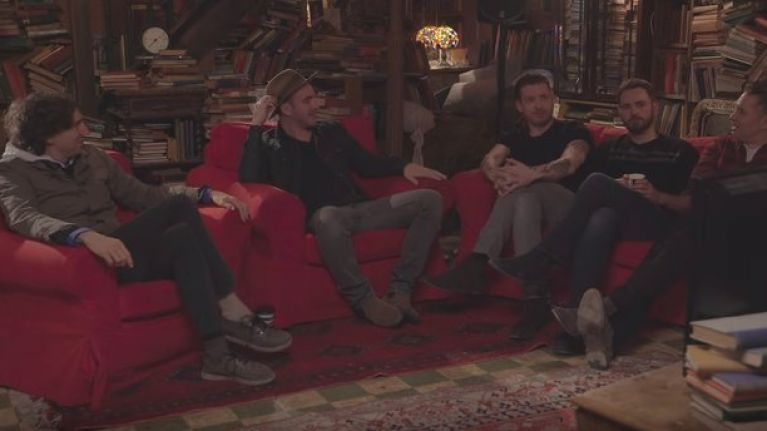 WATCH: Snow Patrol go all Gogglebox as they watch their own music videos from the past 20 years