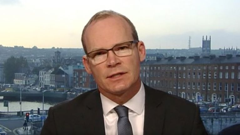 """Simon Coveney: Without a Brexit Withdrawal Agreement, it would become """"difficult to prevent border infrastructure"""""""