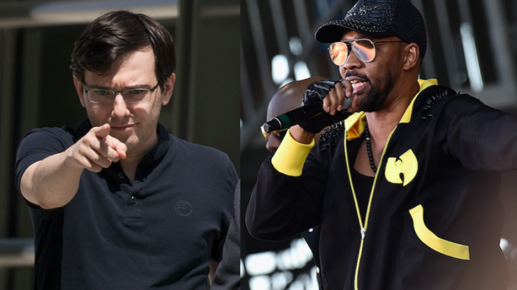 Martin Shkreli ordered to forfeit Wu-Tang Clan album by Federal Judge