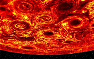 "NASA find features ""unlike anything else encountered in our solar system"" on Jupiter"