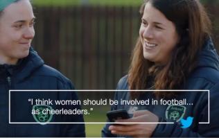 WATCH: The Irish women's football team shut down rude, sexist tweets