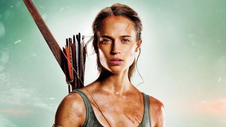 The Big Reviewski #8 with Tomb Raider star Alicia Vikander on doing all her own grunts AND stunts