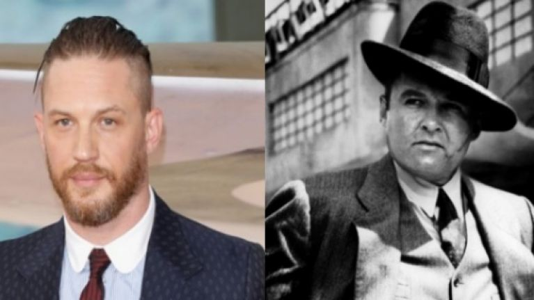 tom hardy looks set to play al capone in a new gangster epic joe