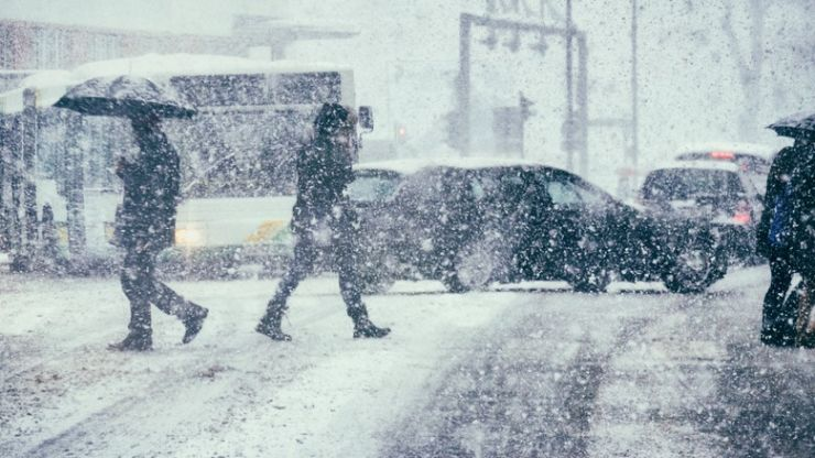 """""""Arctic blizzard"""" warning issued for mainland Europe"""