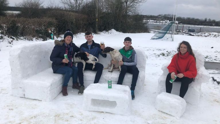 From toilets to barbershops, Ireland has become visionaries in the igloo business overnight