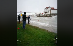 WATCH: Woman filmed being pulled from the sea at Forty Foot in Dublin during Storm Emma