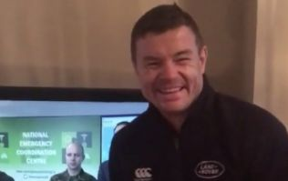 WATCH: Brian O'Driscoll lip-syncing as Leo Varadkar is strangely hypnotic