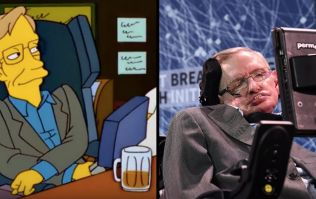 Stephen Hawking's appearances on The Simpsons summed up how brilliant he was