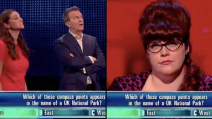 Controversy reigns on The Chase as Bradley Walsh appears to whisper answer to contestant