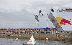 Want to see people attempt to fly off Dun Laoghaire pier? Step this way