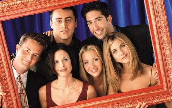 A photo from Friends is making people on the internet very uncomfortable