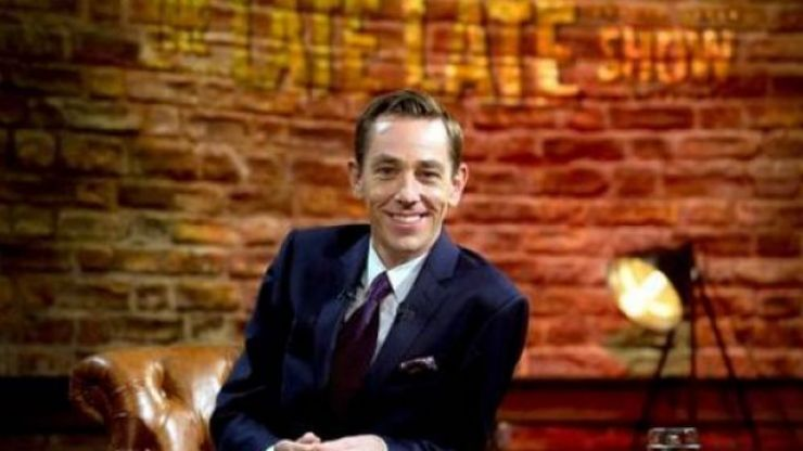 Ryan Tubridy has tested positive for Covid-19