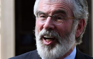 WATCH: CCTV clip shows footage of explosive devices being thrown at Gerry Adams' home
