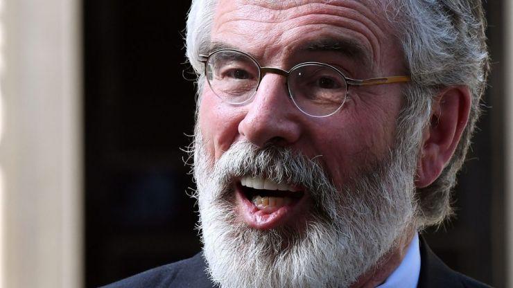 Gerry Adams goes viral on TikTok for coining a new take on the slogan 'Tiocfaidh ár lá'