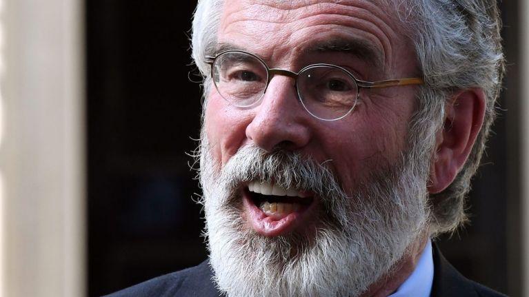 "New York mayor declares 17 March as ""Gerry Adams Day"" in New York City"