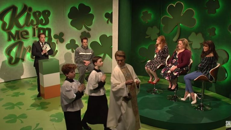 Saturday Night Live's sketch about Ireland on St. Patrick's Day was just downright awful