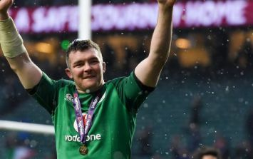 Peter O'Mahony gave away his Six Nations winner's medal to one lucky fan