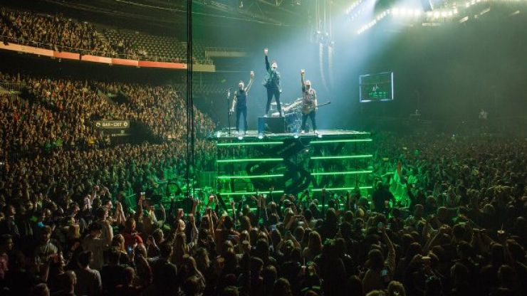 The Script may have broken a very fitting Guinness World Record in celebration of St. Patrick's Day
