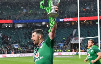 Rob Kearney had the perfect response when Shane Ross got his name wrong on Twitter