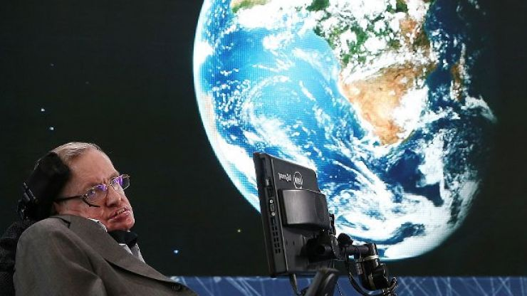 Stephen Hawking predicted how the world will end in 'breathtaking' new research before his death