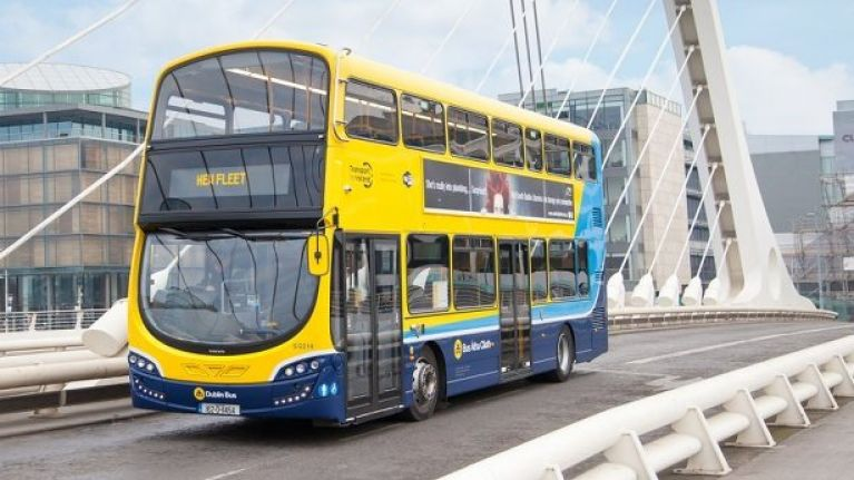 Here are all of the Dublin Bus, Luas and Irish Rail fares that will change from today
