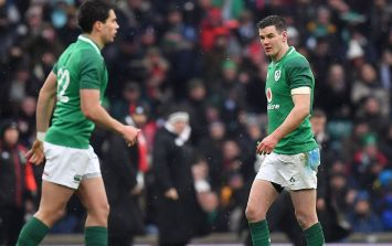 There was a lovely moment on the pitch between Johnny Sexton and Joey Carbery