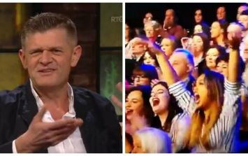 WATCH: There has never been an audience member as excited as this Brendan O'Connor fan