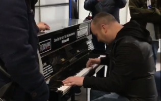 WATCH: Waterford stag party kicks off a massive singsong in busy London tube station