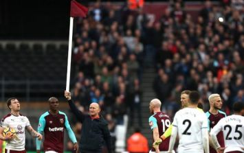 Chaotic scenes during West Ham vs. Burnley as fans invade pitch in protest
