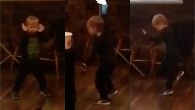 WATCH: This video of a four-year-old dancing to Maniac is the best thing you'll see today